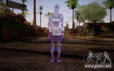 Avina from Mass Effect para GTA San Andreas segunda pantalla