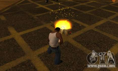 Yellow Effects para GTA San Andreas segunda pantalla