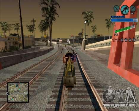 Excelente C-HUD para GTA San Andreas tercera pantalla