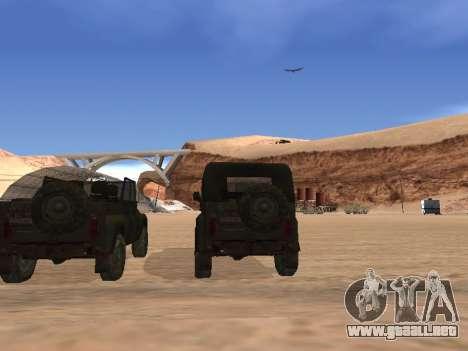 UAZ 3151 (CoD 4 MW) para la visión correcta GTA San Andreas