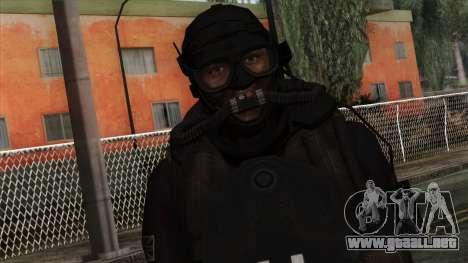 Modern Warfare 2 Skin 9 para GTA San Andreas tercera pantalla