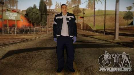 GTA 4 Emergency Ped 9 para GTA San Andreas