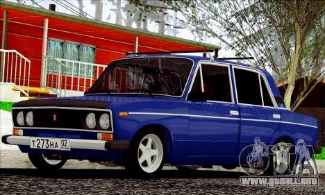 ВАЗ 2106 estilo ruso para GTA San Andreas left