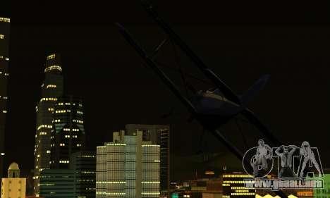 ENB Series para bajos PC 2.0 para GTA San Andreas quinta pantalla
