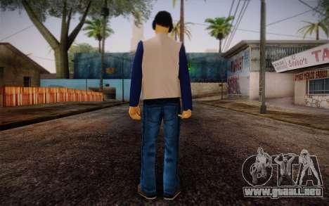 Ginos Ped 17 para GTA San Andreas segunda pantalla