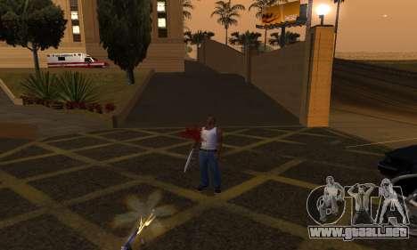 Yellow Effects para GTA San Andreas tercera pantalla