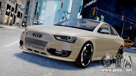 Audi RS4 B8 2013 v1 para GTA 4