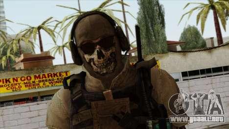 Modern Warfare 2 Skin 10 para GTA San Andreas tercera pantalla