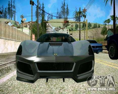Super ENB para los débiles y medianas PC para GTA San Andreas tercera pantalla
