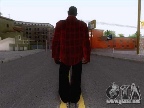 New Fam Skin 1 para GTA San Andreas segunda pantalla