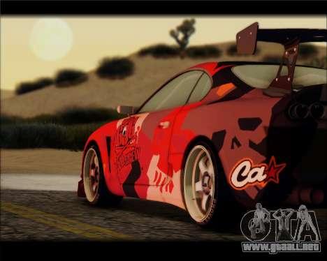 Toyota Supra Fail Crew para GTA San Andreas left