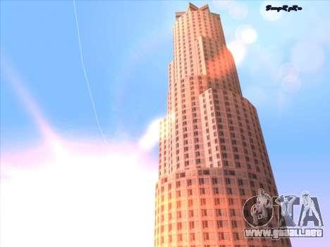 Sunset ENB para GTA San Andreas quinta pantalla