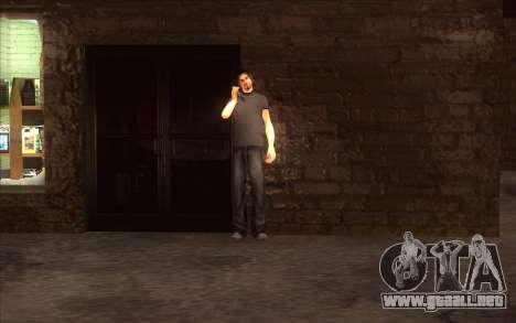 El renacimiento de la aldea Dillimore para GTA San Andreas segunda pantalla