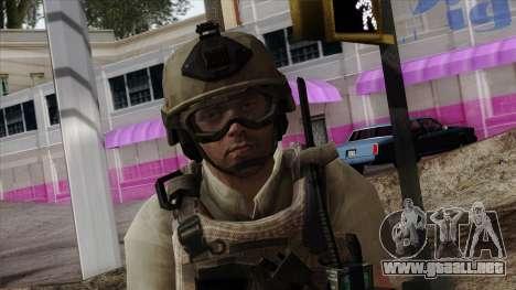 Modern Warfare 2 Skin 19 para GTA San Andreas tercera pantalla