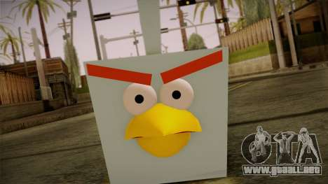 Ice Bird from Angry Birds para GTA San Andreas tercera pantalla