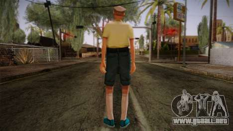 GTA San Andreas Beta Skin 17 para GTA San Andreas segunda pantalla