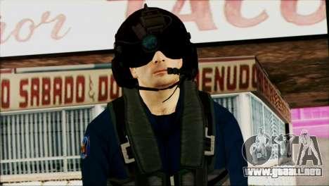 Chinese Pilot from Battlefiled 4 para GTA San Andreas tercera pantalla