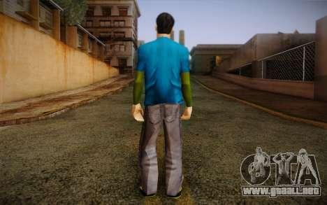 Ginos Ped 10 para GTA San Andreas segunda pantalla