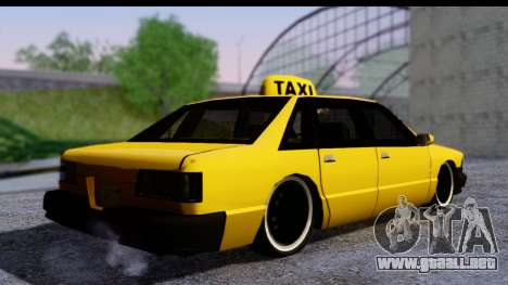 Slammed Taxi para GTA San Andreas left