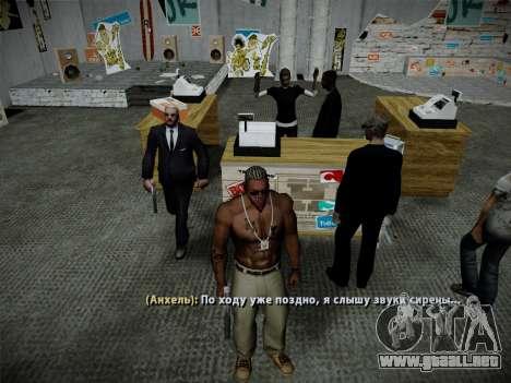 Sistema de robos v4.0 para GTA San Andreas undécima de pantalla