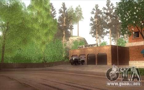 El renacimiento de la aldea Dillimore para GTA San Andreas sucesivamente de pantalla