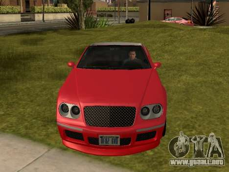 Cognoscenti Cabrio para la visión correcta GTA San Andreas
