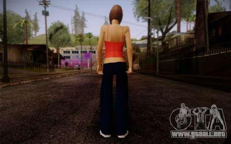 Ginos Ped 9 para GTA San Andreas segunda pantalla