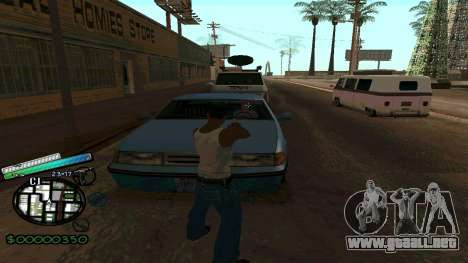 C-HUD New Style para GTA San Andreas tercera pantalla