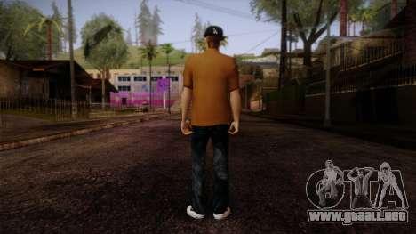 Gedimas Omyst Skin HD para GTA San Andreas segunda pantalla
