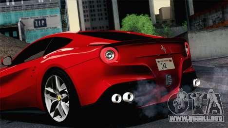 Ferrari F12 Berlinetta 2013 para la visión correcta GTA San Andreas