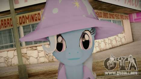 Trixie from My Little Pony para GTA San Andreas tercera pantalla