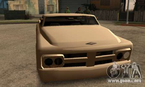 Beta Slamvan para GTA San Andreas left