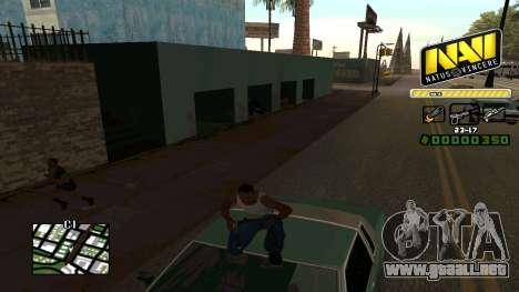 C-HUD NaVi para GTA San Andreas sucesivamente de pantalla