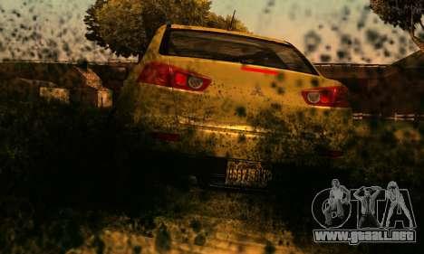 ENB Series para bajos PC 2.0 para GTA San Andreas segunda pantalla