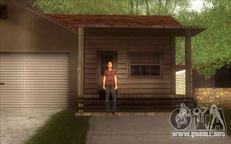 El renacimiento de la aldea Dillimore para GTA San Andreas quinta pantalla
