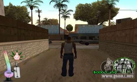 C-HUD Canabis para GTA San Andreas