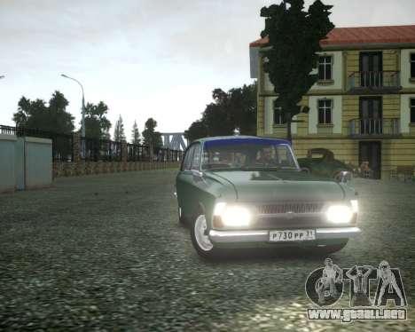 IZH 2125 Combi para GTA 4 vista interior
