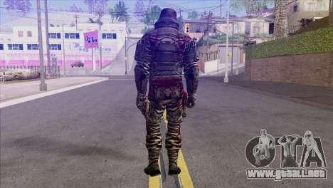 Outlast Skin 7 para GTA San Andreas segunda pantalla