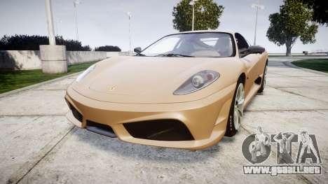 Ferrari F430 Scuderia 2007 plate F430 para GTA 4