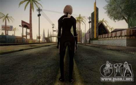 Karin Chakwas from Mass Effect para GTA San Andreas segunda pantalla