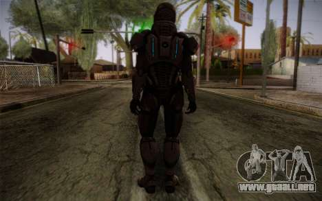 Shepard Default N7 from Mass Effect 3 para GTA San Andreas segunda pantalla