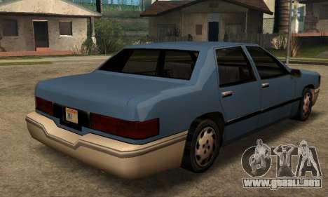 Beta Elegant Final para la visión correcta GTA San Andreas
