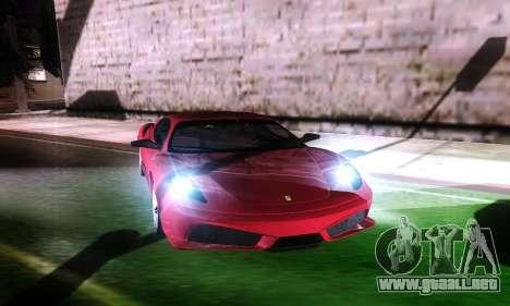 Darky ENB for Low and Medium PC para GTA San Andreas sucesivamente de pantalla