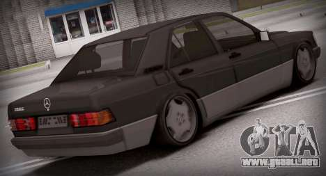 Mercedes-Benz 190E para GTA San Andreas left