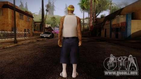 Fresno Buldogs 14 Skin 3 para GTA San Andreas segunda pantalla