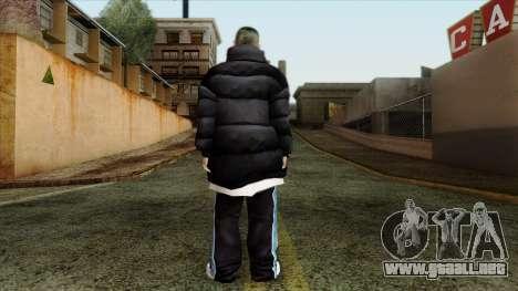 GTA 4 Skin 1 para GTA San Andreas segunda pantalla