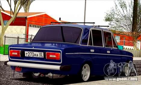 ВАЗ 2106 estilo ruso para la visión correcta GTA San Andreas