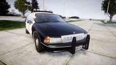 Chevrolet Caprice 1991 LAPD [ELS] Traffic para GTA 4
