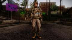 Blackburn from Battlefield 3 para GTA San Andreas