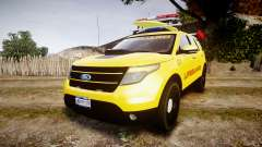 Ford Explorer 2013 Lifeguard Beach [ELS]